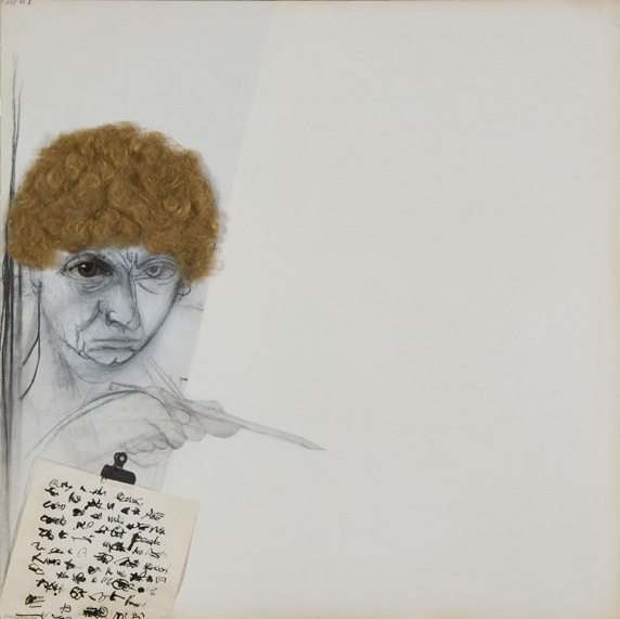 Just one of the extraordinary pieces of Brett Whiteley on display at Newcastle Art Gallery.