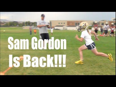 Sam Gordon Football Video 1: She's Back!!! - YouTube