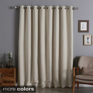Aurora Home Extra Wide Thermal 96-inch Blackout Curtain Panel | Overstock.com Shopping - The Best Deals on Curtains