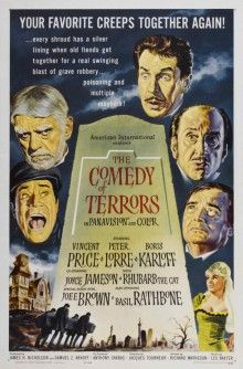 Комедия ужасов смотреть онлайн (1964)
