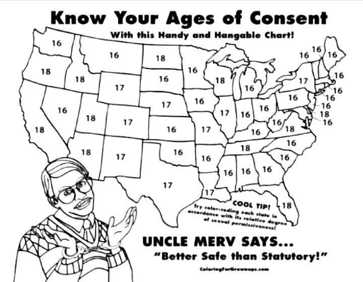 Pass - Us age of consent map