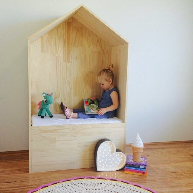 the boo and the boy: reading nooks for kids