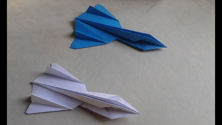 How to make the SR 71 blackbird jet fighter paper airplane