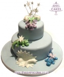 Dragon Christening Cake