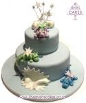 Dragon Christening Cake
