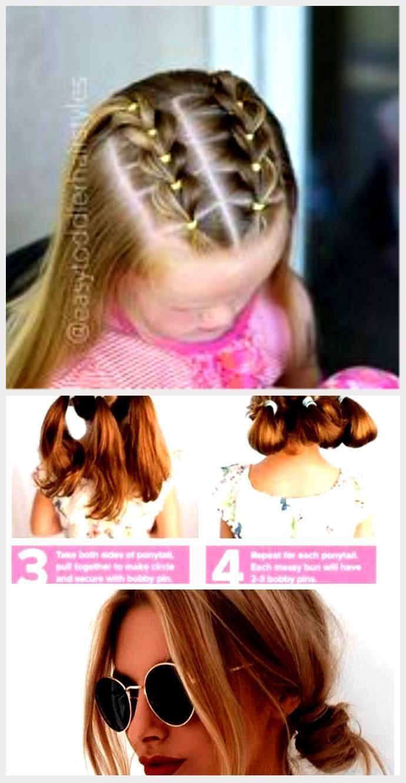 Hairstyles Kids Girls Easy Simple Hairstyles Kids Girls Easy Easy Girls Hairstyles Kids Sim In 2020 Short Hair Styles Easy Easy Hairstyles Kids Short Hair Styles