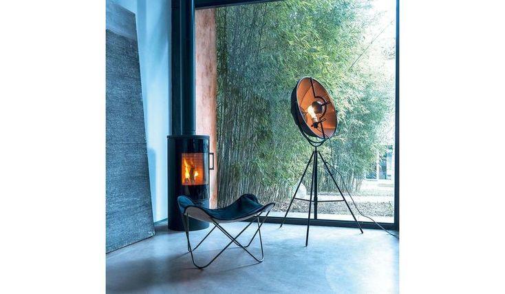 Fortuny Bronze Rubelli - Lampadaire LED | Pallucco | AmbienteDirect.com