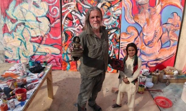 Make Films and Circuses Not War: Q with Australian War Artist George Gittoes Part 1