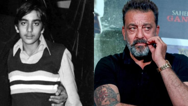 sanjay dutt old and young | Young, Bollywood, Fictional ...