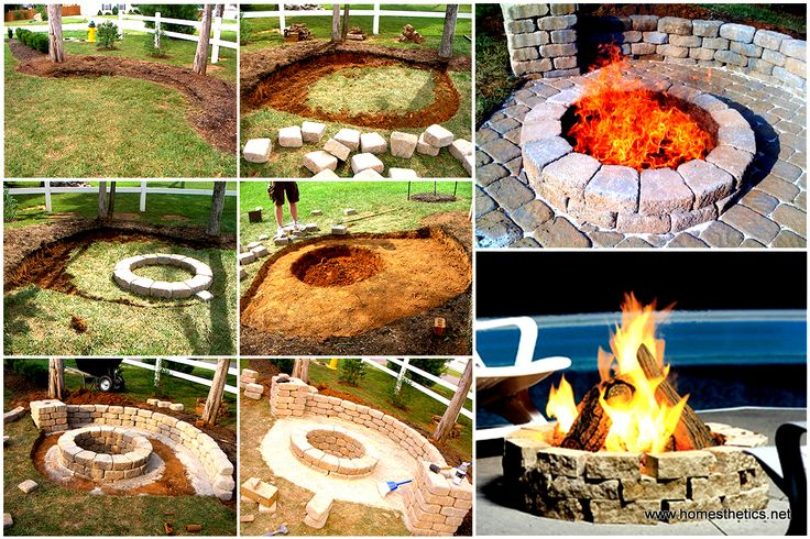 A backyard is a great privilege. A small land of your own on which you can materialize a DIY Fire Pit Project and enjoy the warmth and coziness at its best.