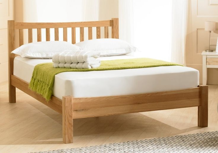The Milan is a classic designed bed frame in solid oak. Finished in a luxury clear wax, the Milan features a stylish vertically slatted integrated headboard.