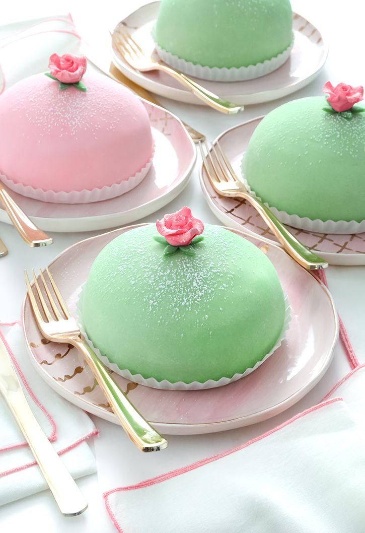 Swedish Princess Cake Prinsesstarta Swedish Princess Cake Swedish Recipes Princess Cake