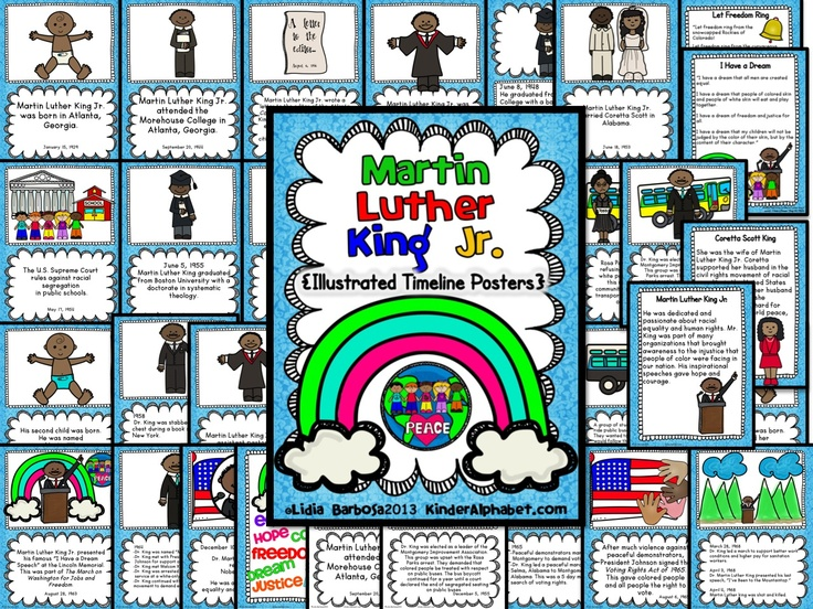 Martin Luther King Poster Ideas