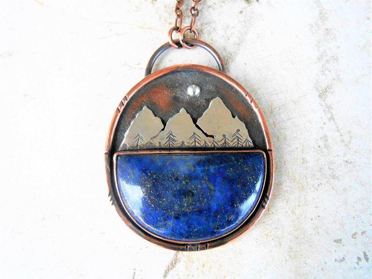 Lapis Mountain Necklace
