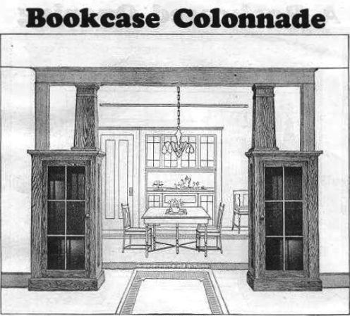 Best 25 craftsman built in ideas on pinterest craftsman for Craftsman style bookcase plans