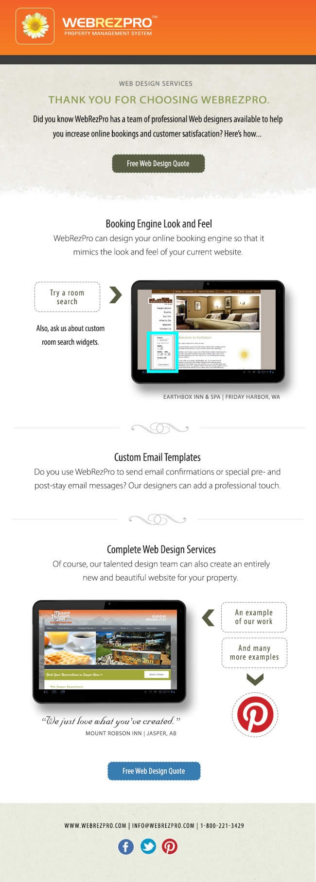 property management free website templates for free download about