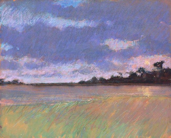 Paul Lewin - Setting Sun over the Great Pool