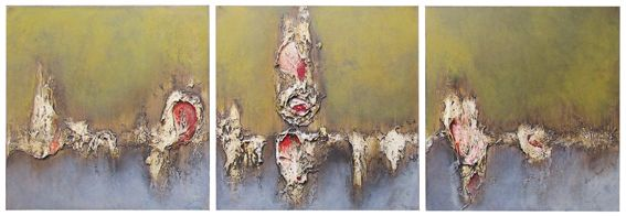 14. Exposed (triptych) - Symon Sayce