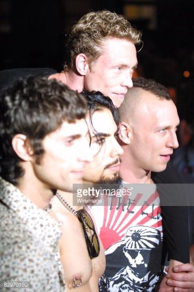 News Photo : Perry Farrell Dave Navarro Martyn LeNoble and...