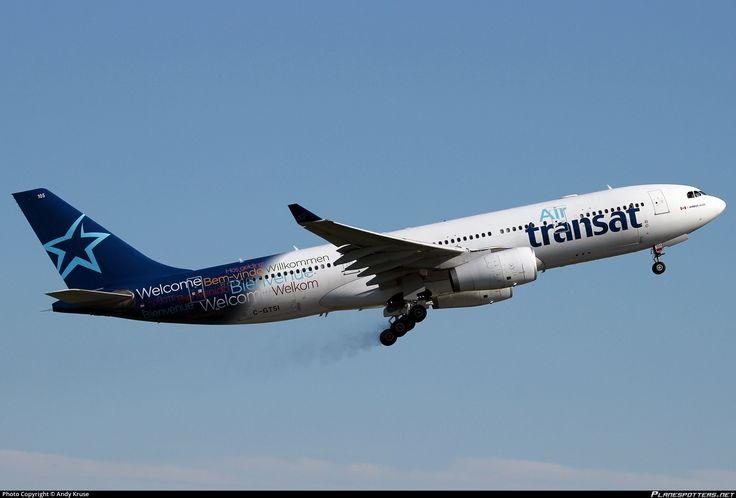 C-GTSI Air Transat Airbus A330-243