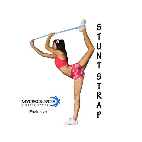 Stretching Strap for Cheerleaders Flexibility Stunt Strap Band for Stretching - Increase flexibility #Stretching #Strap #Cheerleaders #Flexibility #Stunt #Band #Increase #flexibility