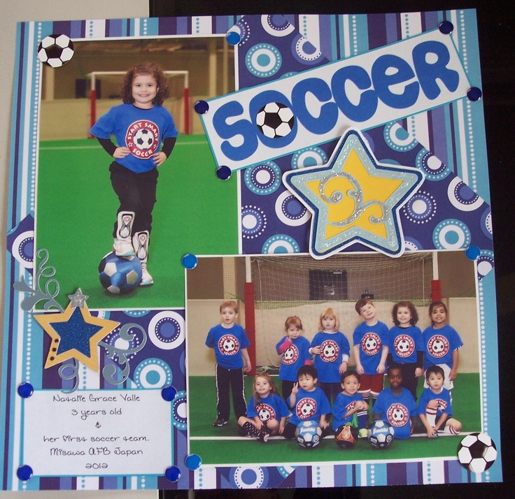 Soccer Star - Scrapbook.com