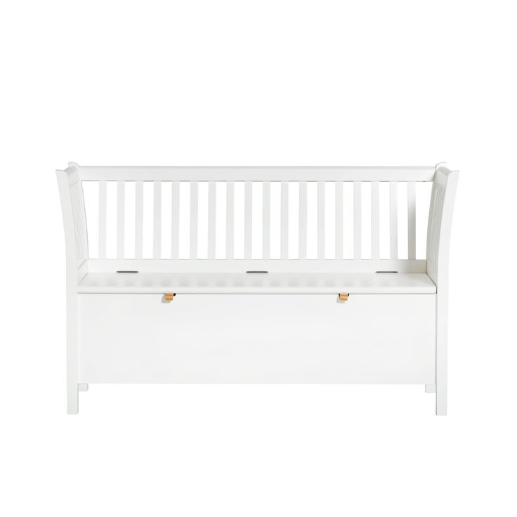 Kökssoffa / slagbänk 131 cm vit, Oliver Furniture