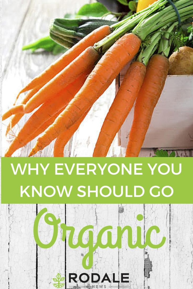 Here are some great points to make when urging people to adopt an organic lifestyle.