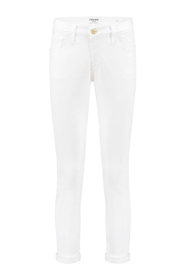 Frame Denim Le Color Garcon Blanc - LGJ711
