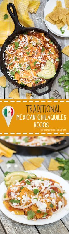 Everybody should know how to make chilaquiles, because this Mexican dish is fantastic! Check it out!