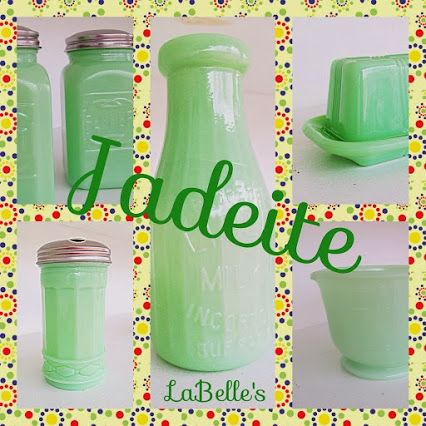 Stocking our shelves with #Jadeite kitchen accesssories.  Jadeite puts a spring in my step!  | LaBelle's General Store - Google+