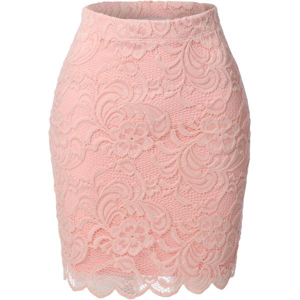 17 Best ideas about Pink Lace Skirt on Pinterest | Midi skirt ...