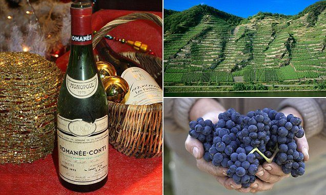 The 10 most expensive bottles of wine in the world revealed