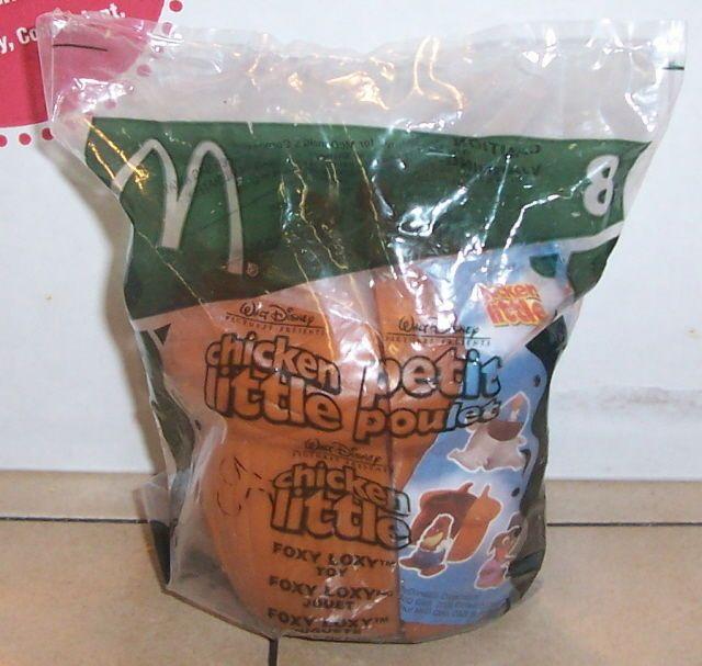 2005 Mcdonalds Happy Meal Toy Chicken Little #8 Foxy Loxy MIP #McDonalds