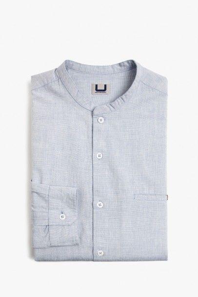 Camisa mao algodón   Adolfo Dominguez