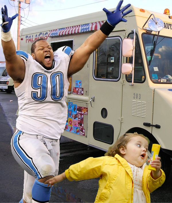 CHALLENGE ACCEPTED: THE BEST OF YOUR EXCITED Ndamukong Suh...PHOTOSHOPS