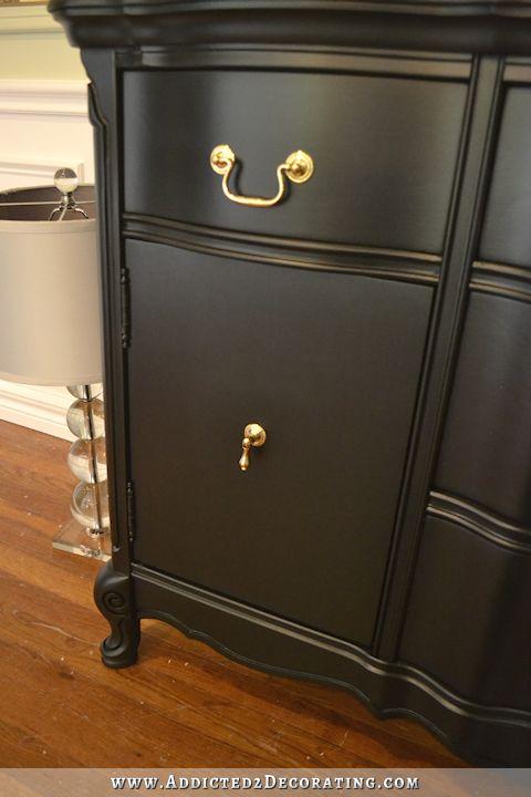 best 25 black buffet ideas on pinterest painted buffet. Black Bedroom Furniture Sets. Home Design Ideas