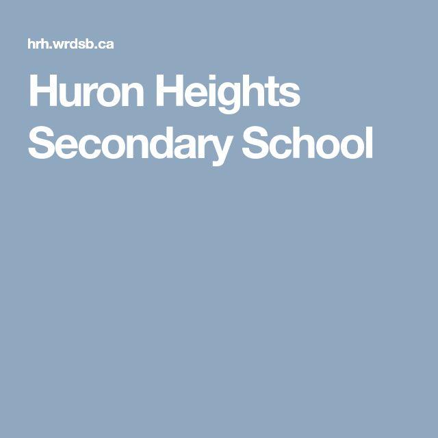 Huron Heights Secondary School