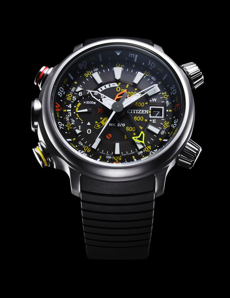 Citizen Altichron Analog Altimeter Compass