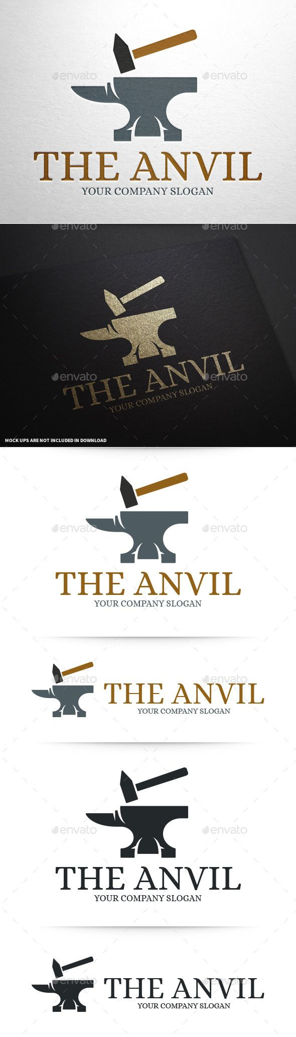 Anvil Logo Template #vector #logo #template for sale at #graphicriver