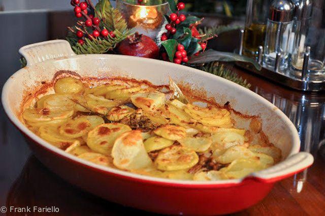 Côtes d'agneau Champvallon (Lamb Chop and Potato Casserole)   Memorie di Angelina