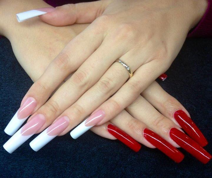 142 best I like acrylic nails super long! images on ...