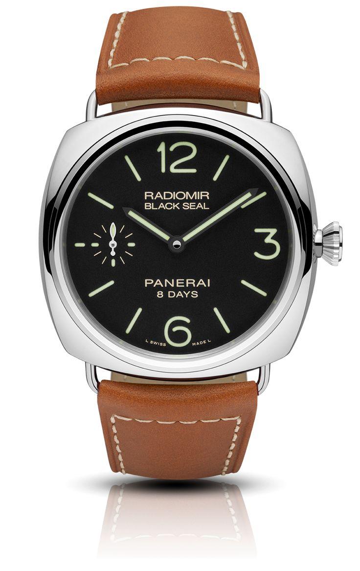 Panerai - Radiomir Black Seal 8 Days Acciaio - 45mm, $6k