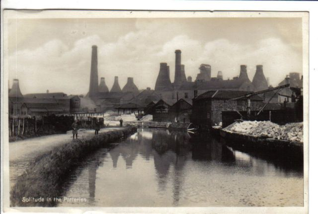The Potteries, before the Clean Air act, a classic industrial landscape