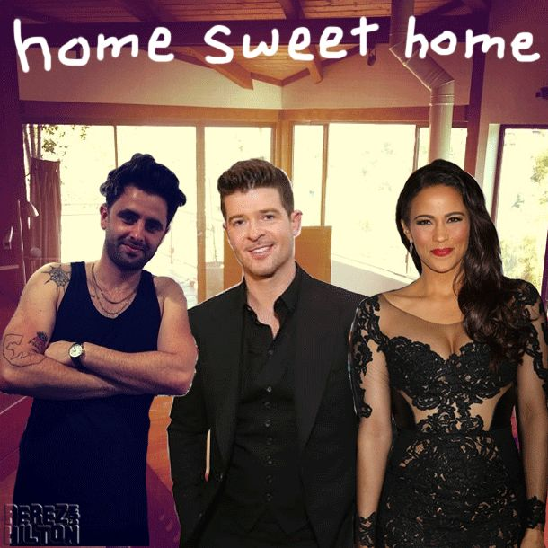 Paula Patton Filed For Divorce From Robin Thicke Yesterday -- But Moved In With Her New Boyfriend Two Weeks Ago?!