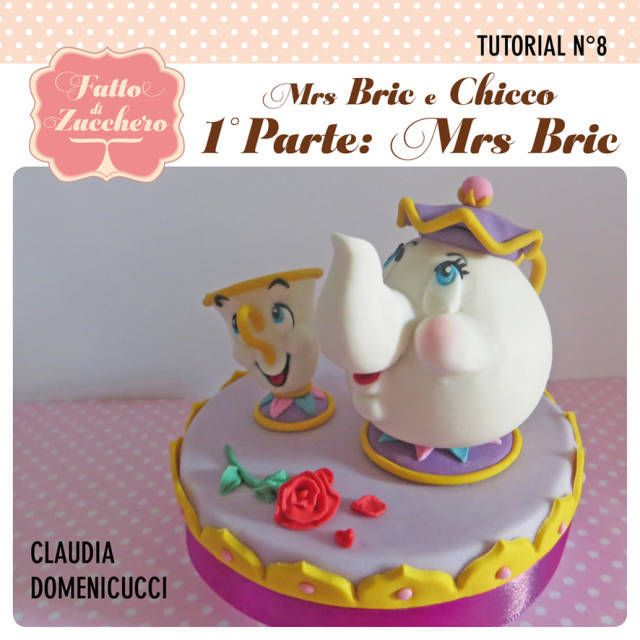Mrs. Potts and Chip (Beauty and the Beast) #1: Mrs. Potts - CakesDecor