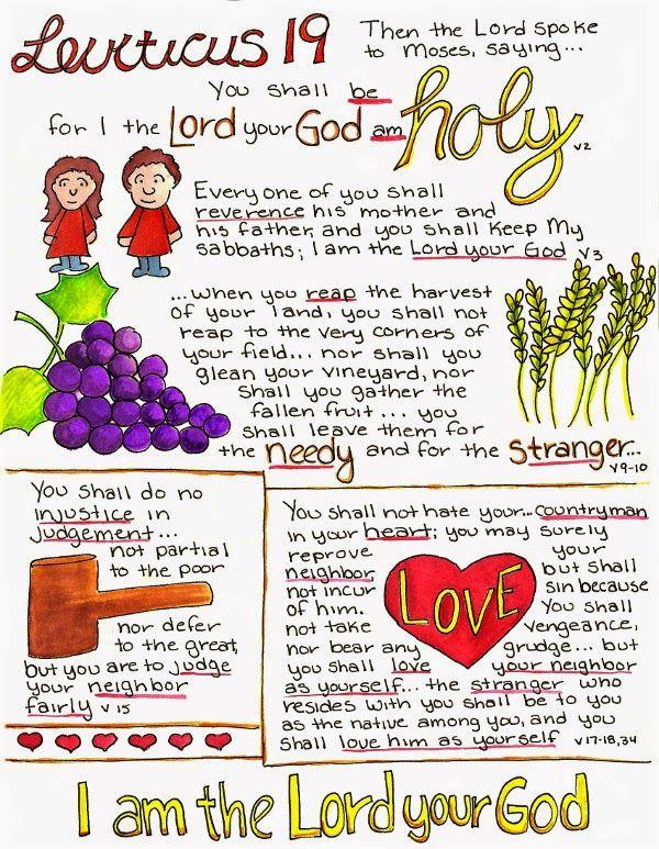 Doodle Through The Bible: Leviticus 19   ::mama's boys::   Bible