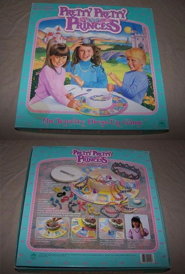 For when I need a trip down memory road  Pretty Pretty Princess | 55 Toys And Games That Will Make '90s Girls Super Nostalgic