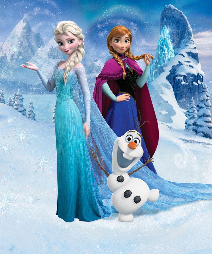 Disney Frost Fototapet - Disney - Tapetkunst.dk