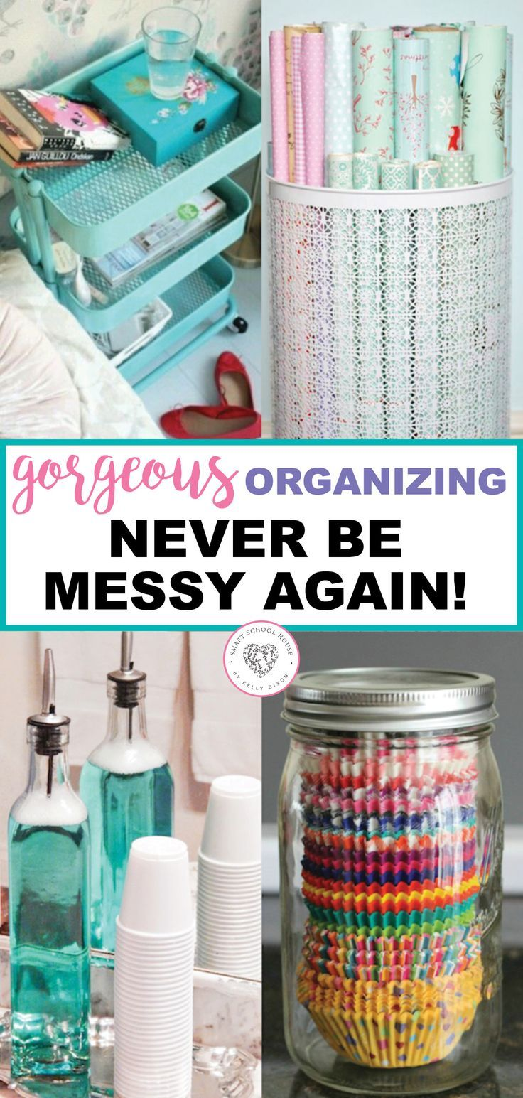 Tips For Organization And Tidying Up Home Organization Hacks